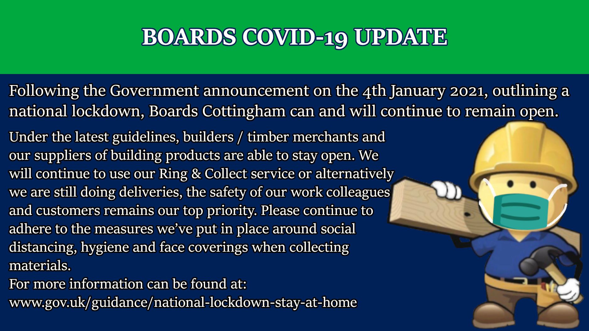 Boards COVID-19 Update